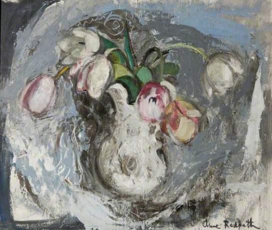 tulipsinawhitejug